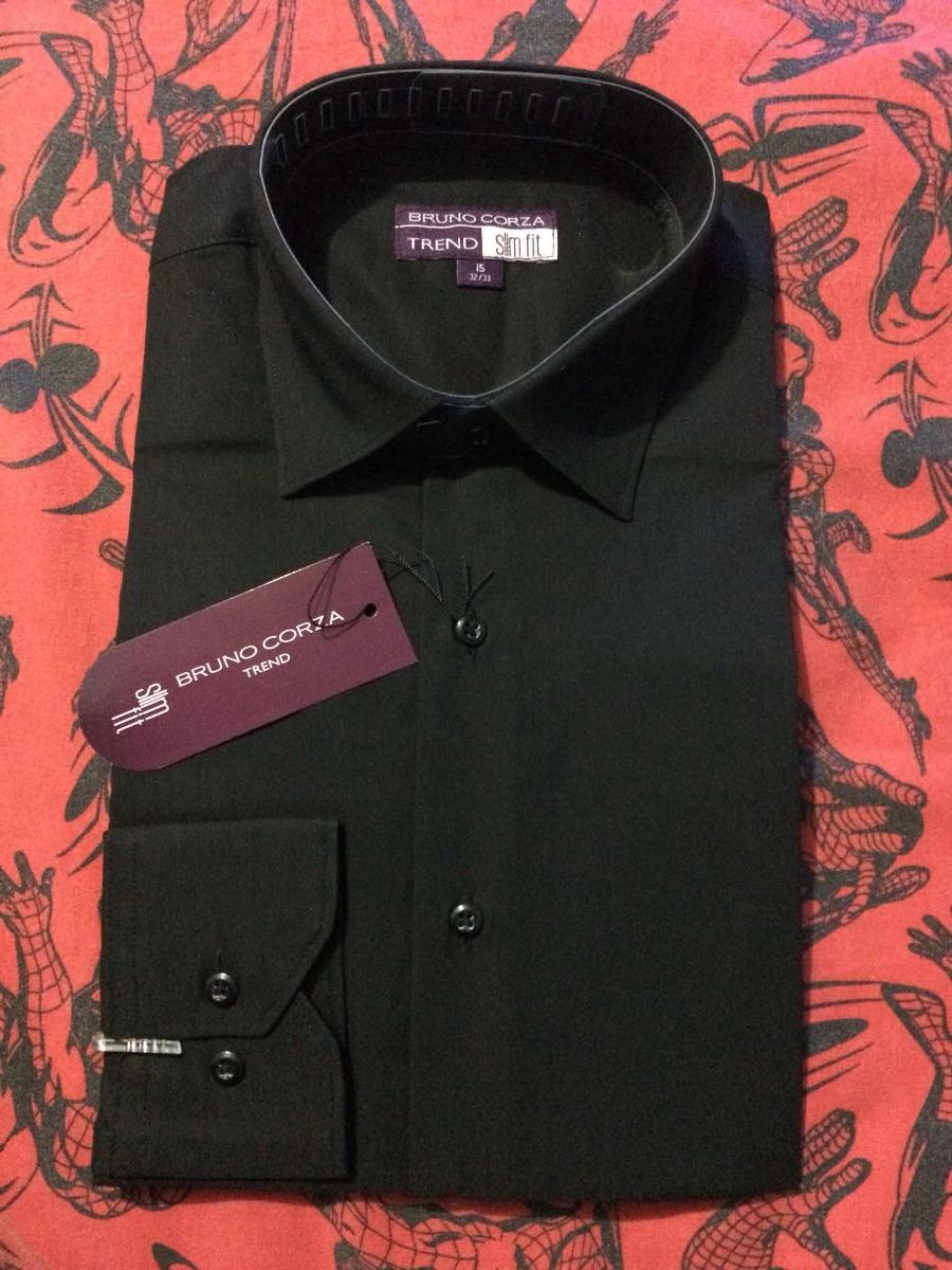 Camisa De Vestir Hombre Color Negro -   100.00 en Mercado Libre b2b5159a6cd