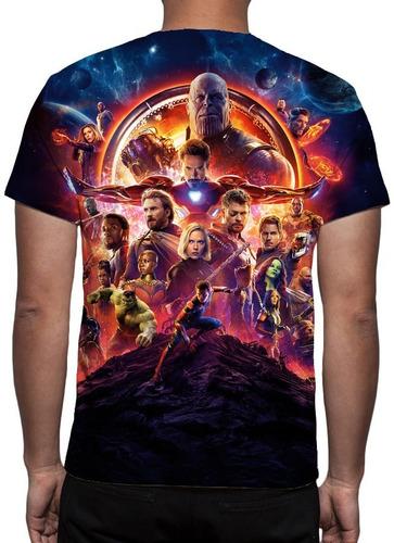 camisa, vingadores guerra infinita mod 12 - frete grátis