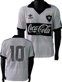 Camisa Vintage Retrô Botafogo 1988 Coca Feminino   Baby Look - R  94 ... 4f63091e32156