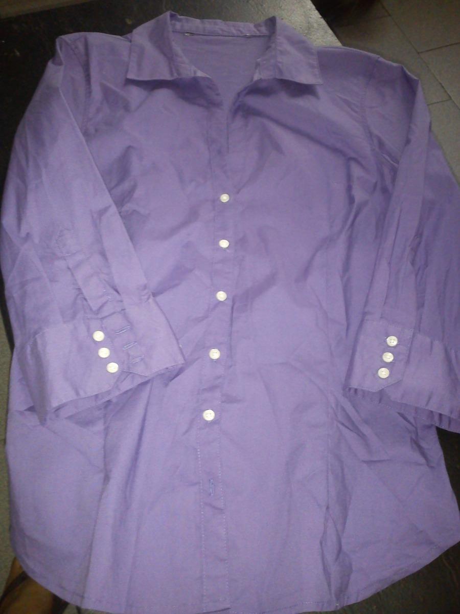 Violeta Mujer Cargando Zoom Para Camisa dwqgTdO