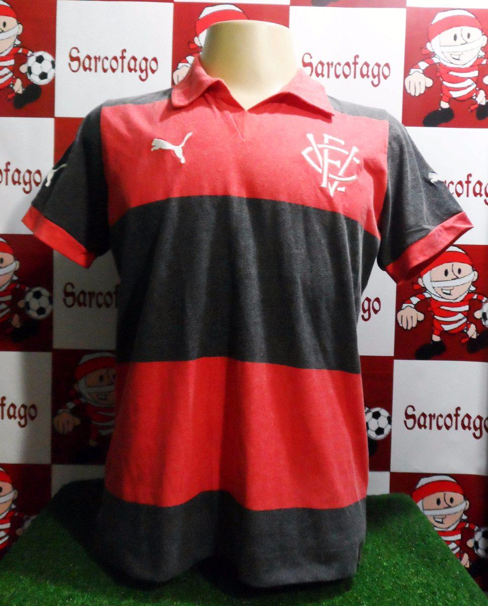 bcd05f49e2e74 Camisa Vitória Puma Oficial Retro Promoção - R  79