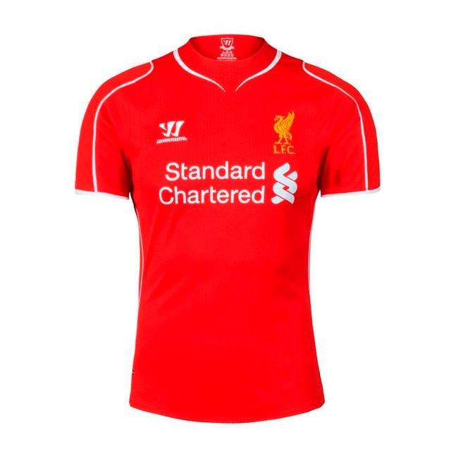 042eaaea9df64 Camisa Warrior Liverpool Home 2015 - Pronta Entrega!! - R  119