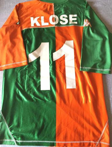 63aadd86f7 Camisa Werder Bremen 2005-06 Klose  11 Kappa Oficial - R  279