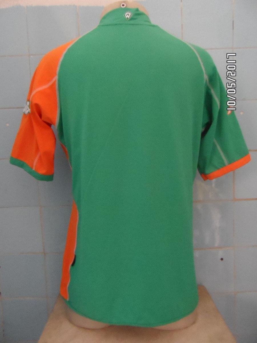 Camisa Werder Bremen Kappa Kombat - R  120 6135569fb6206