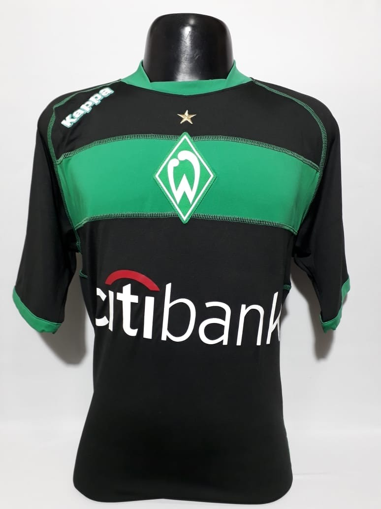 camisa werder bremen away kappa temporada 2009. Carregando zoom. ff6f7adb2babb