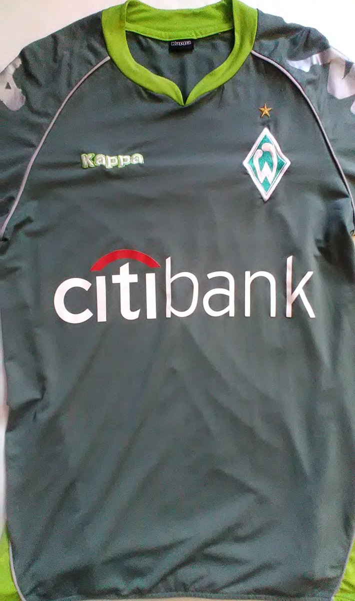camisa werder bremen kappa oficial tamanho p. Carregando zoom. c0831b7383d71