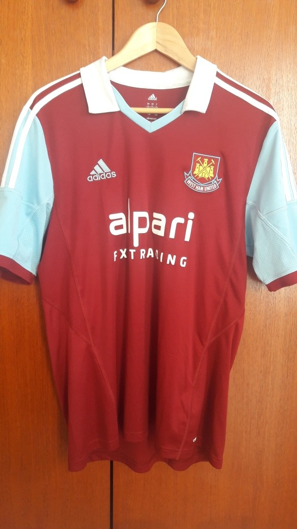 new products 9df71 2e3a7 Camisa West Ham 2014/2015 adidas G