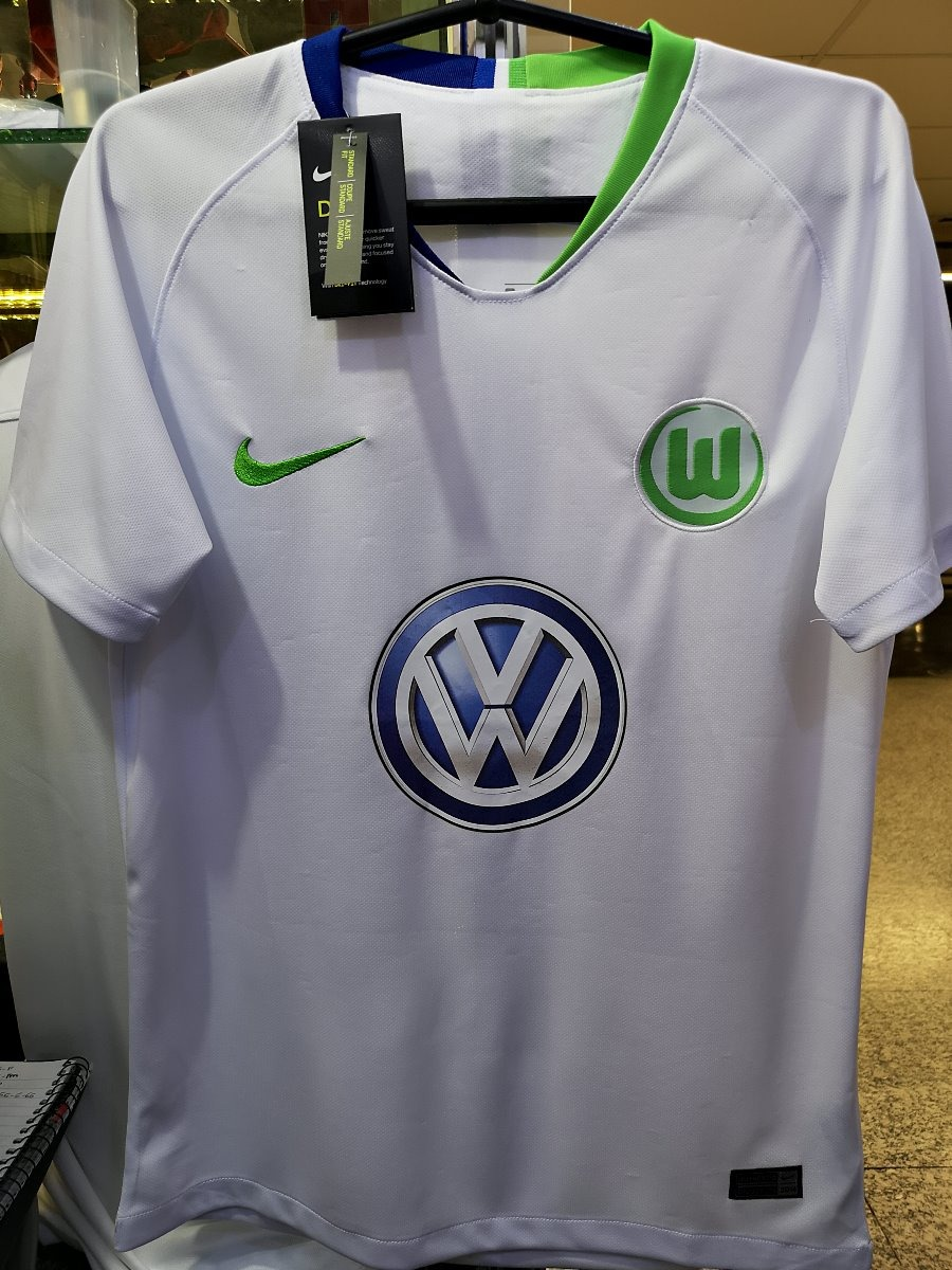 Camisa Wolfsburg Away 18 19 Novas Pronta Entrega - R  135 954a3989306cb