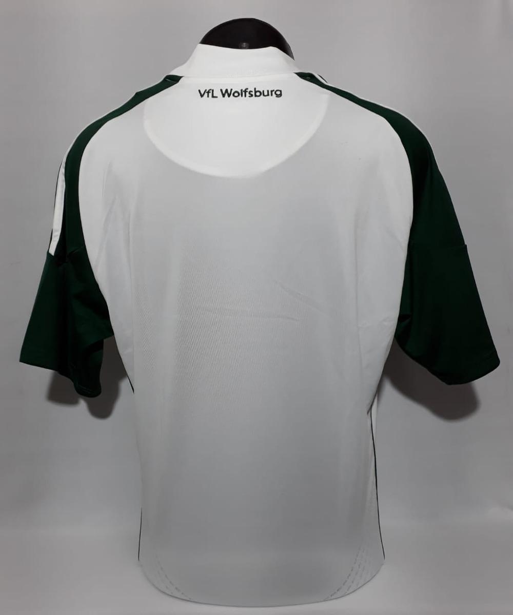 586606130b camisa wolfsburg home adidas s n temporada 10 11. Carregando zoom.