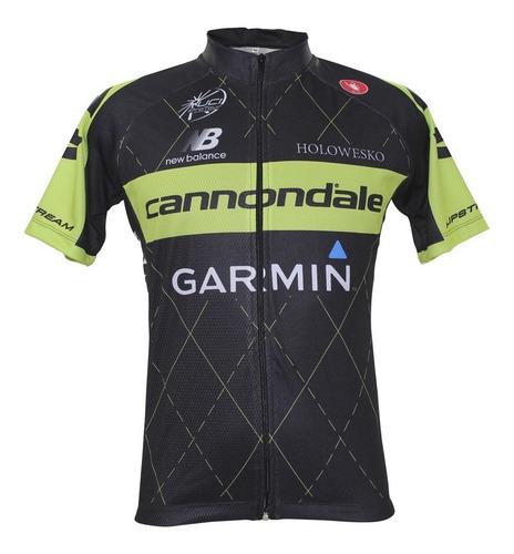 camisa wt cannondale m/c - refactor - preta - p