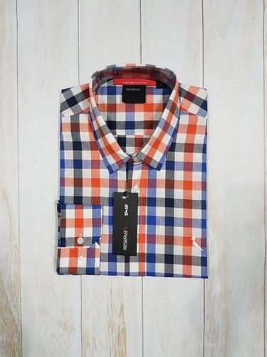 camisa xadrez calvin klein, sérgio k