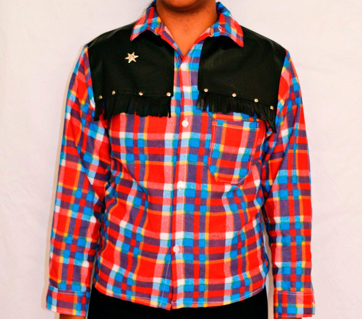 camisa xadrez de flanela country infantil. Carregando zoom. 17fa63f2f72