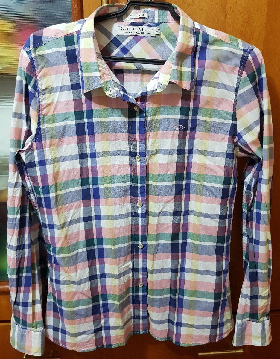 d7ec04f2a Camisa Xadrez Ellus Original - R$ 70,00 em Mercado Livre