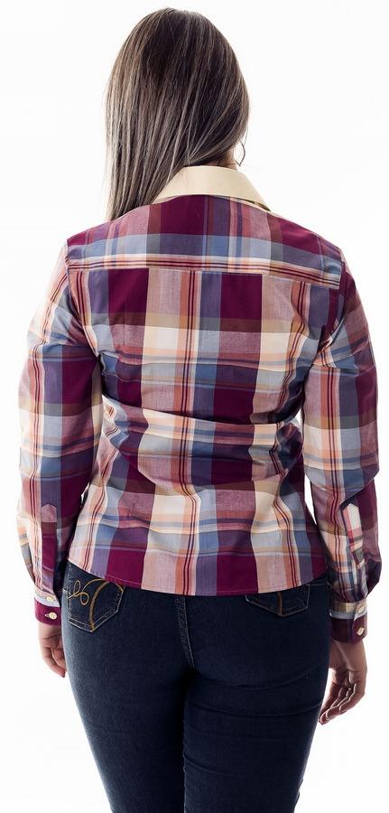 fb126e0e4 Camisa Xadrez Feminina Juanita - Pimenta Rosada - R$ 126,90 em ...