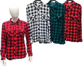a2c39fb19e Camisa Country Feminina - Camisa Manga Longa Feminino no Mercado Livre  Brasil