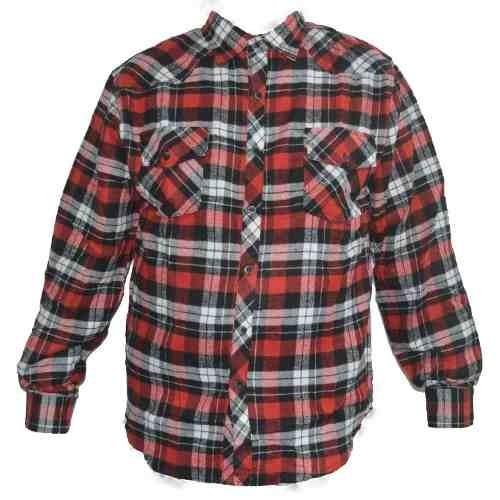 cb0eb06a4 Camisa Xadrez Flanelada Masculina Azul Preta Vermelha - R$ 79,19 em ...