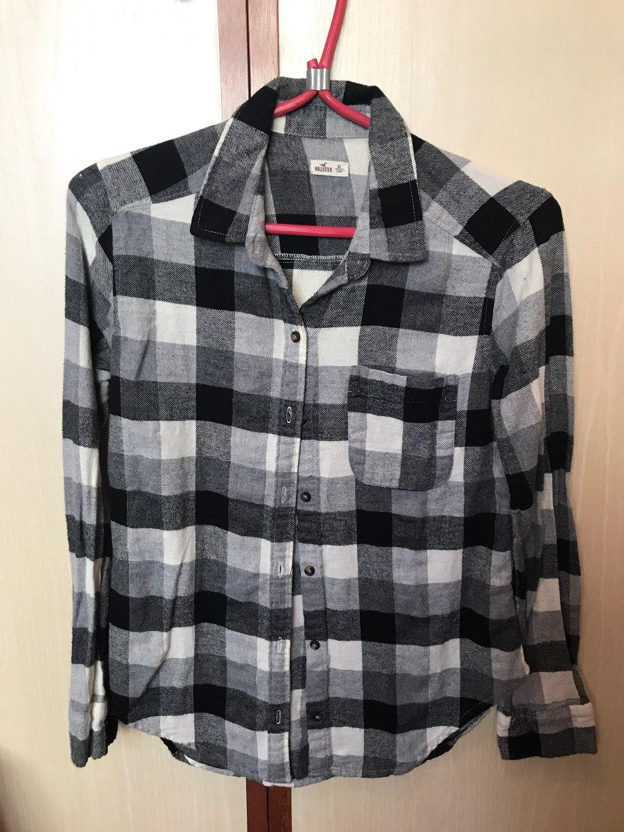 camisa xadrez hollister original feminina importada 2. Carregando zoom. c493f576c72d1