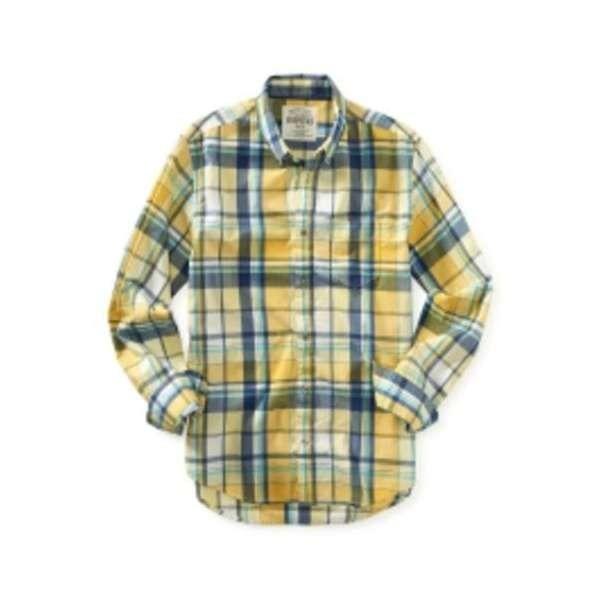 Camisa Xadrez Masculina Aeropostale - R  135 0a9955d7867