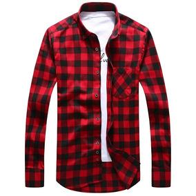 fb2e07604 Camisa Xadrez Levis - Camisa Manga Longa Masculino no Mercado Livre Brasil