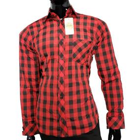b520f101e7af3 Camisa Xadrez Masculina Festa Junina - Camisa Longa com o Melhores Preços  no Mercado Livre Brasil