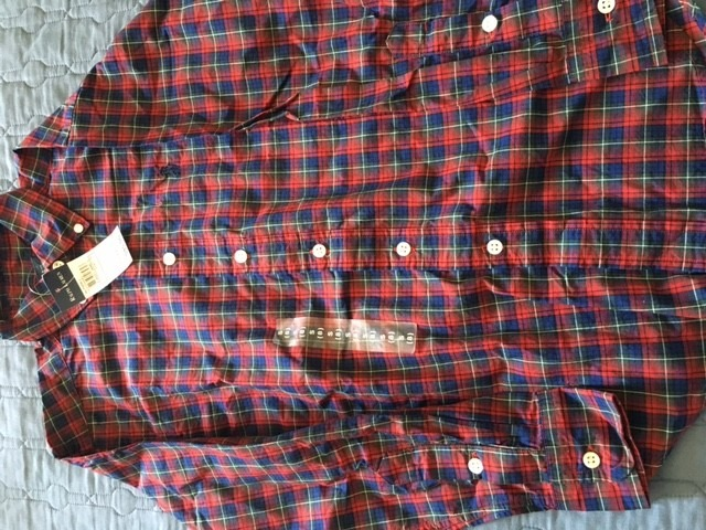 Camisa Xadrez Nova Infantil Polo Ralph Lauren Tam 8 - R  130 5845a0b11ce