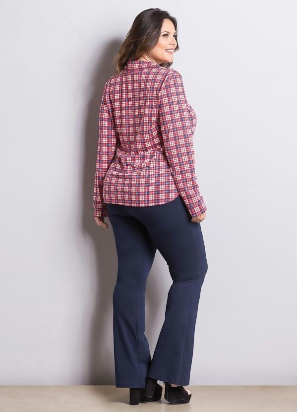 258f088dde camisa xadrez plus size manga comprida lançamento promoção. Carregando zoom.