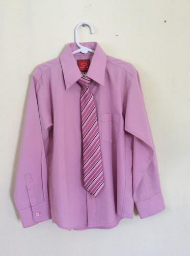 camisa y corbata de niño