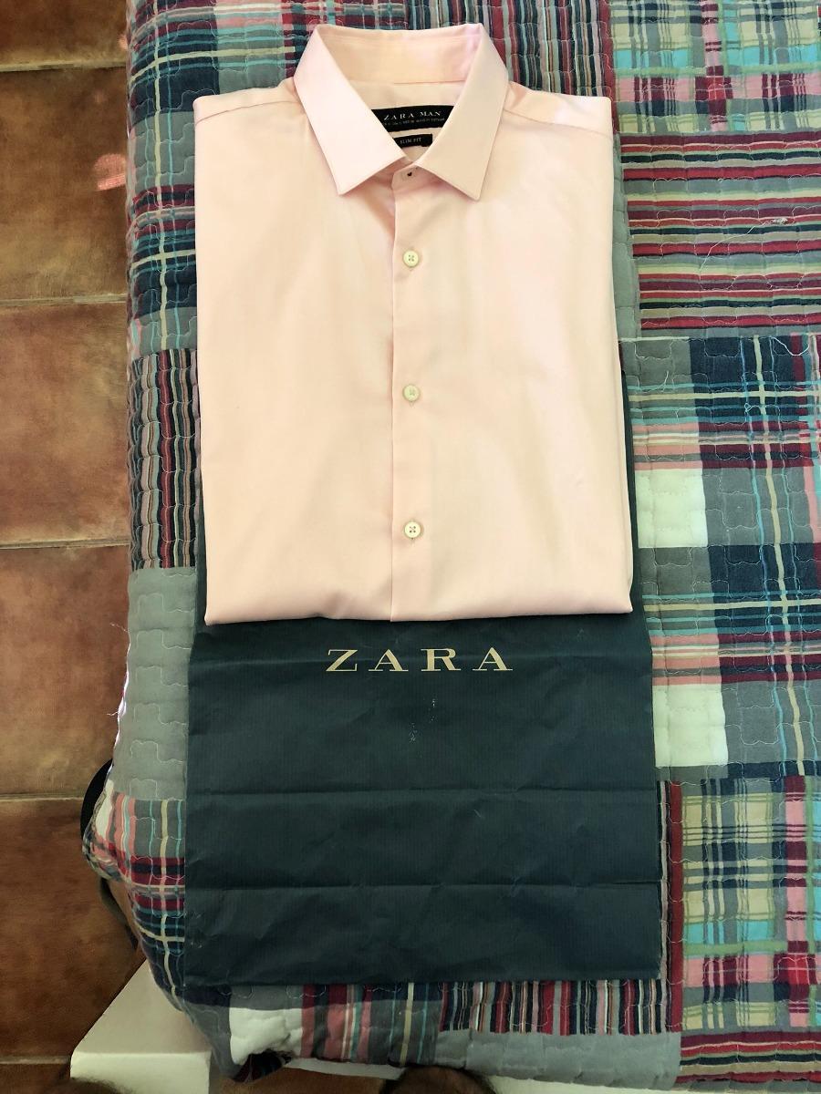 6ed47a2c Camisa Zara De Vestir Rosa Talle S (30) - $ 850,00 en Mercado Libre