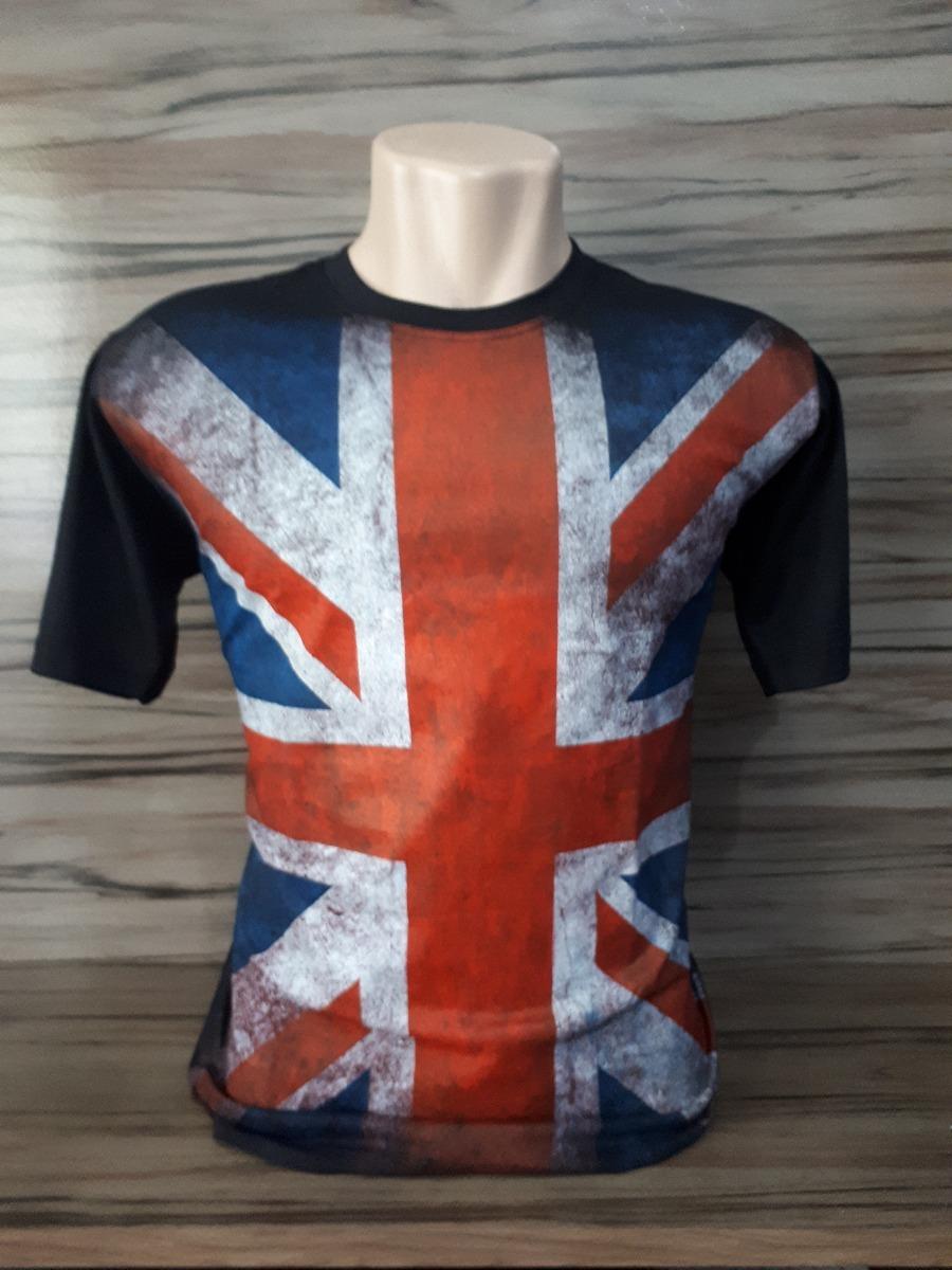7ca4170083 camisa camiseta bandeira inglaterra masculina manga curta! Carregando zoom.