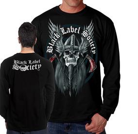 a2f8a8497b Johnnie Walker Black Label Camiseta Manga Longa Preta - Camisetas e ...