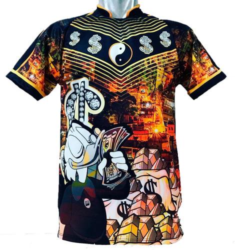 camisa/camiseta pousadão milionário - tio patinhas - cifrão
