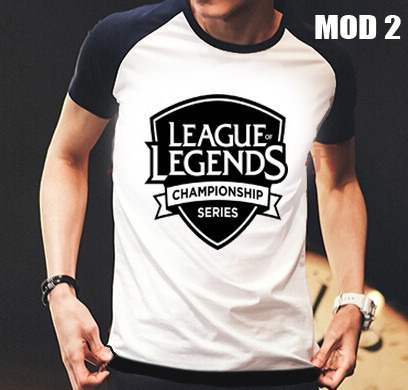 camisa/camiseta raglan gamer league of legends  lol