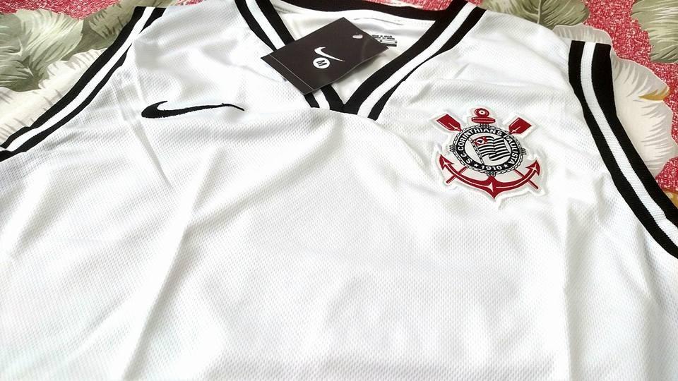 Carregando zoom... camisa camiseta regata corinthians ... 6f503c1f40913