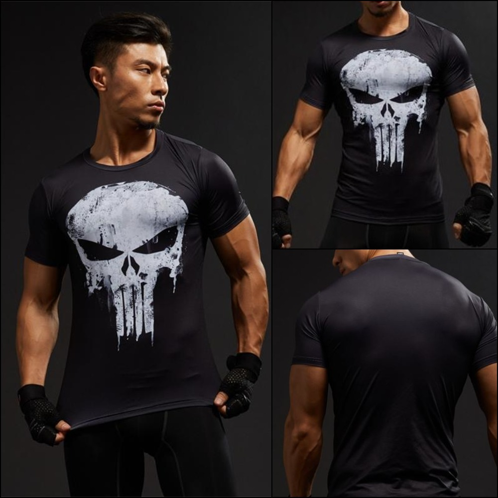 839d6fee588e3 camisa camiseta top heróis justiceiro série compressão slim. Carregando  zoom.