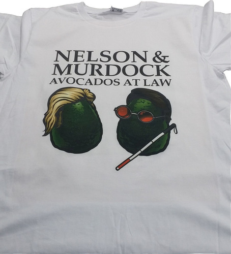 camisa/camiseta/blusa - demolidor - avocados at law - marvel