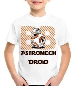 camisa,camiseta,infantil,star wars the force awakens,bb-8