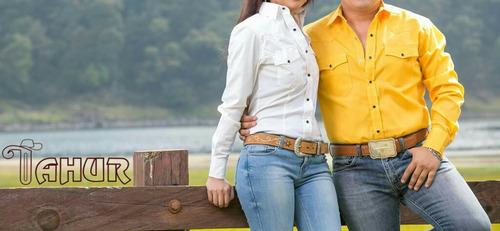 camisas 100% vaqueras para cabalgata