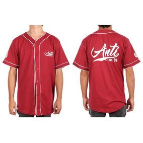 709565fd7dcf6 Antifashion Camisa Hombre Basebol Apache Ecko Antif036 Core