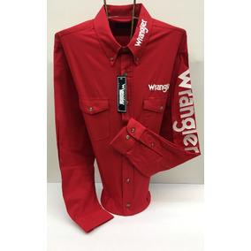 8f97ede1db Camisas Vaqueras Wrangler - Camisas Manga Larga de Hombre M en ...