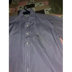 7209d1d738a45 Camisa Manga Longa Lacoste Original Nova