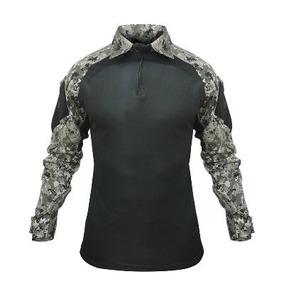 230214166f333 Camisa Combat Shirt Tatica Militar Segurança Reforçada