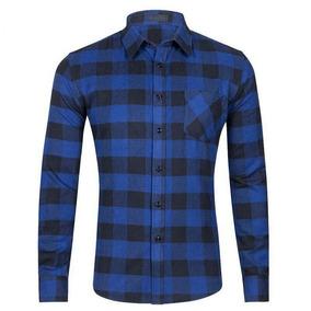 fe4bfcc905e37 Camisas Masculina Flanelada Evoke M - Calçados