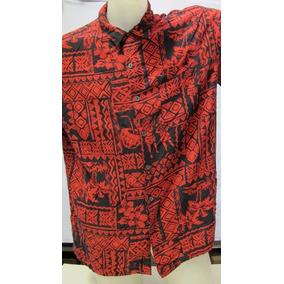 2527f5581ec4e Camisa Casual Moderna Com Desenhos Tribais Preta - Camisas no ...