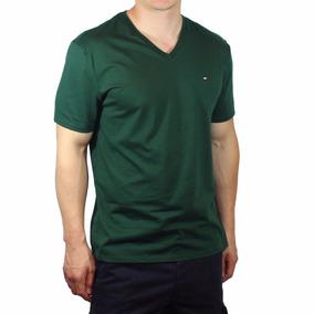 1279991afd4 Camisa Masculina Tommy Hilfiger - Gola Em V - Tam G - P11