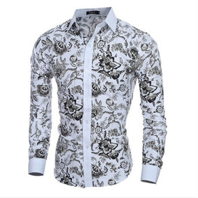 bb56baf55d752 Camisa Social Floral Masculina Reserva - Camisas em Santa Catarina no  Mercado Livre Brasil