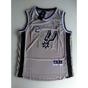 ab8dbdf86 Camisa San Antonio Spurs Kawhi Leonard Cinza