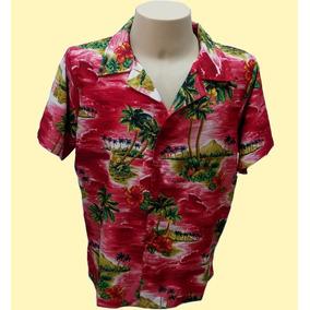 0b60f4f76 Camisa Florida Camisa Havaiana G Vermelha - Camisa Casual Manga ...