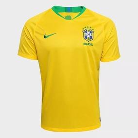 3ee822a6c Camisa Seleção Brasil Amarela Original Nike Lacrada - Camisa ...