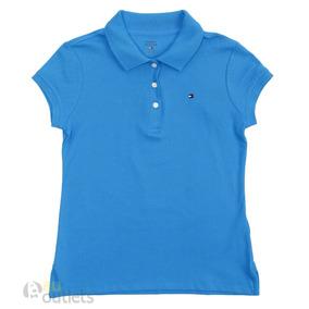 1c6fd89cab691 Camisa Polo Infantil Feminina Tommy Hilfiger Bloom