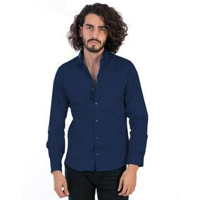 6027d2ae52e36 Camisa Slim Fit Shirt Precio De Fabrica Corte Pegado